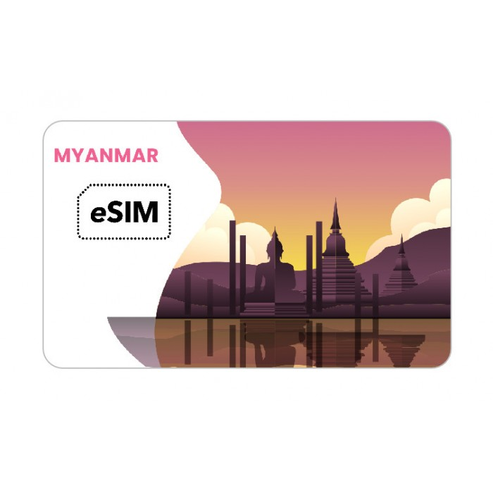 eSIM Myanmar Telenor Roaming