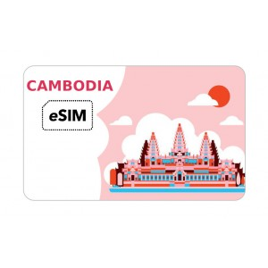 eSIM Cambodge Metfone Roaming
