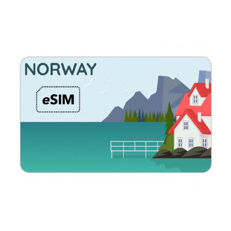 eSIM ノルウェー eSIM Telenor Roaming