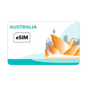 eSIM オーストラリア eSIM Telstra Roaming