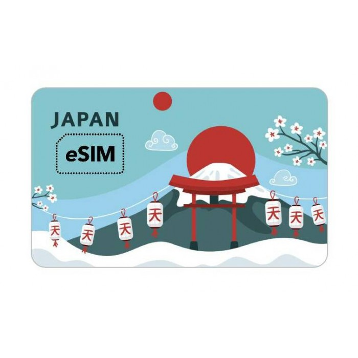 eSIM 日本 Softbank Roaming