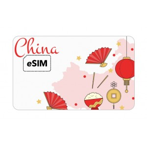 eSIM Chine China Mobile Roaming