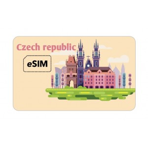 eSIM Czech republic Vodafone Roaming